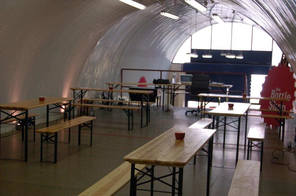 bottle shop exhibition venues