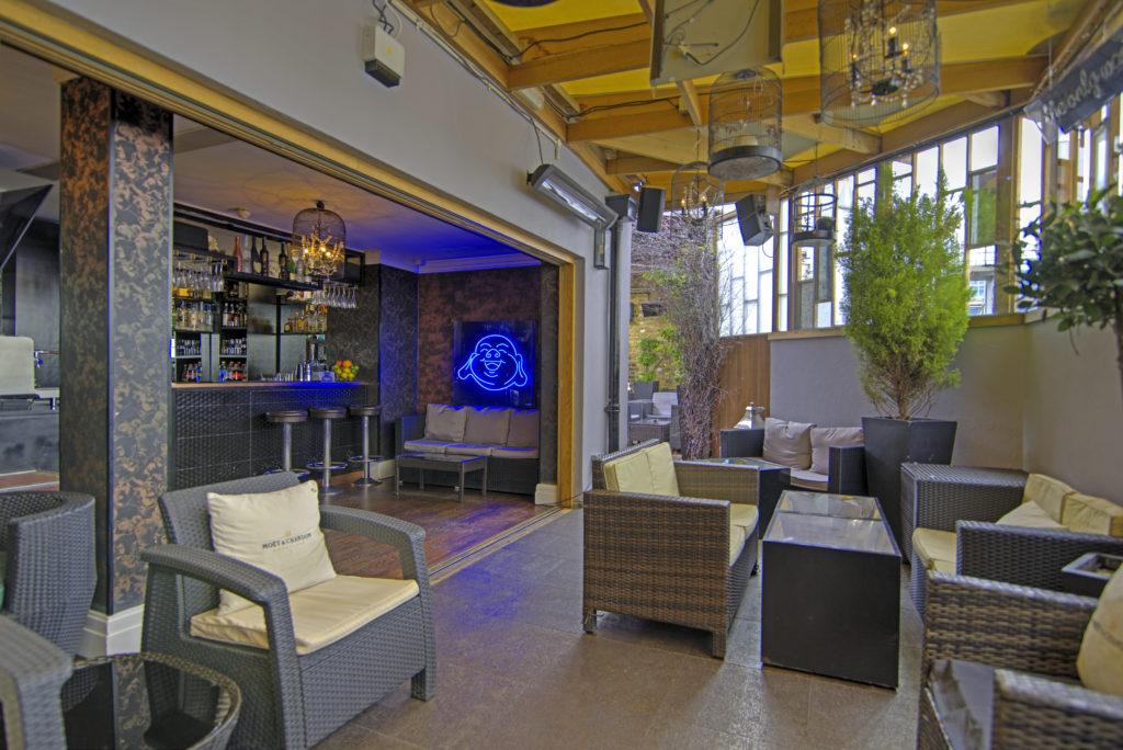 karma sanctum roof terrace product launch