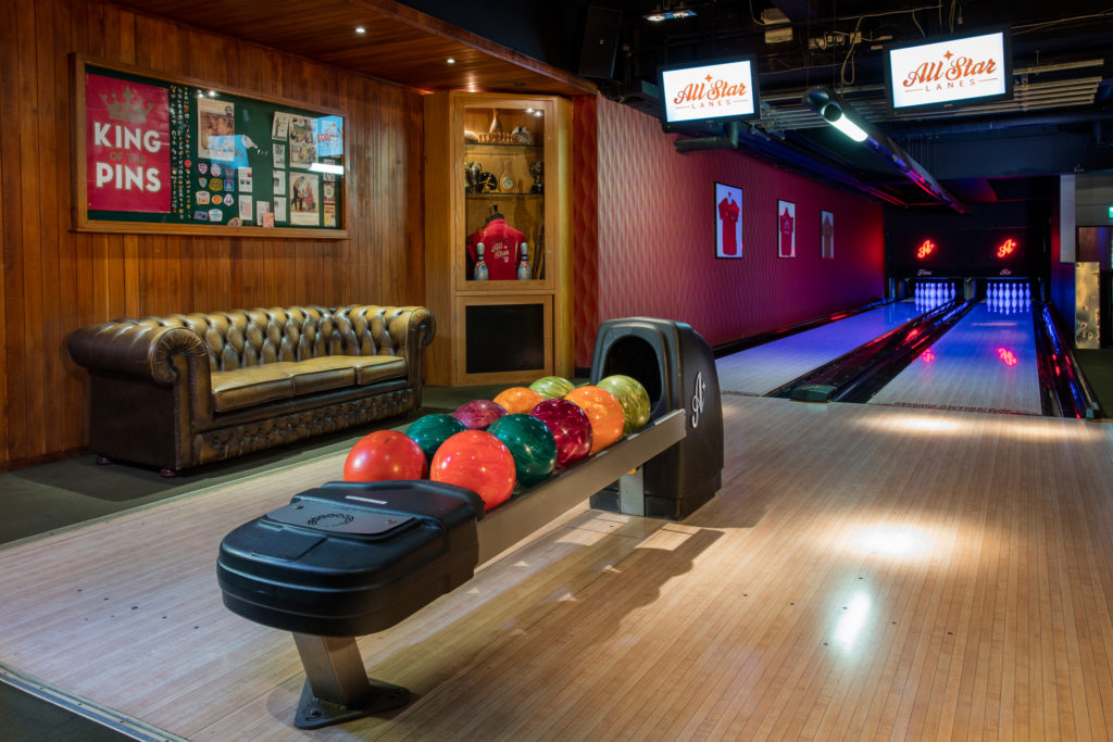 all star lanes central activity bars