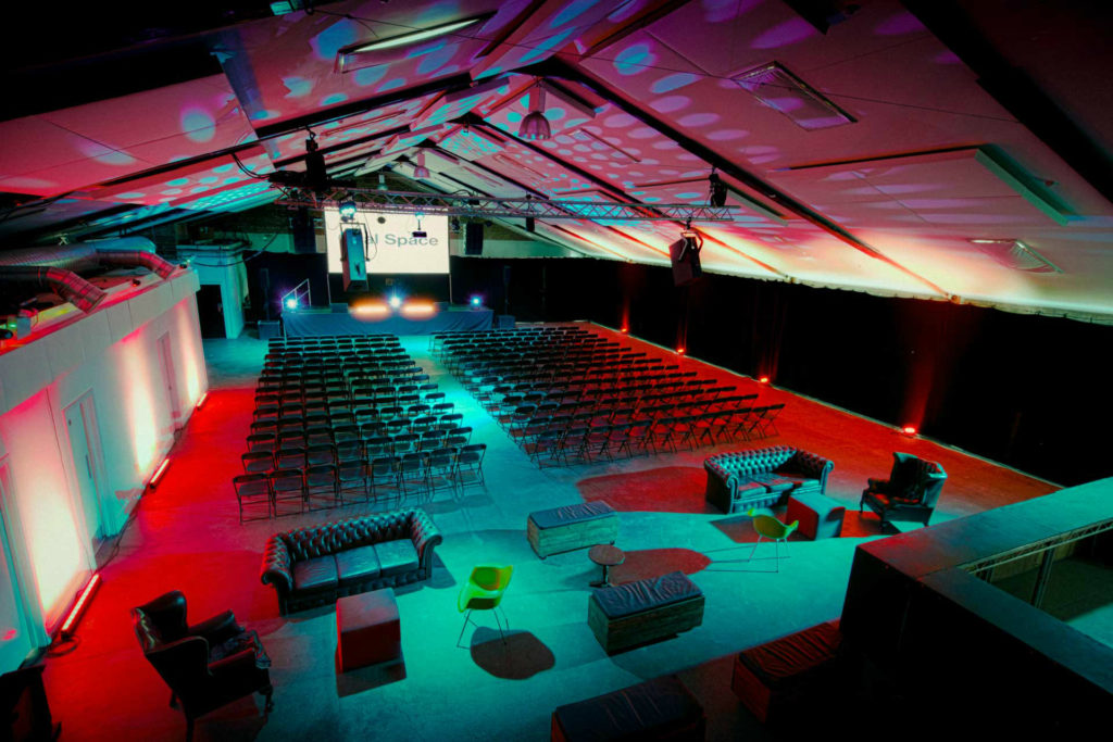 oval space high tech venue