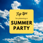 top tips summer party ideas