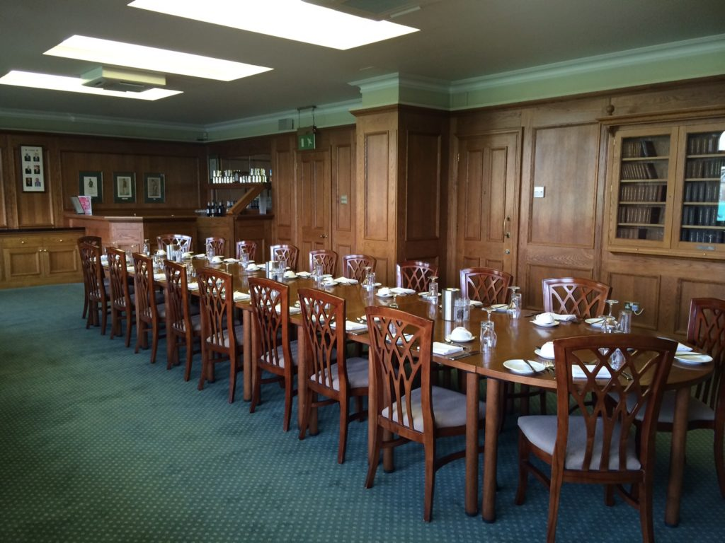 kia oval private dining event