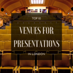top 10 venues for presentations in london
