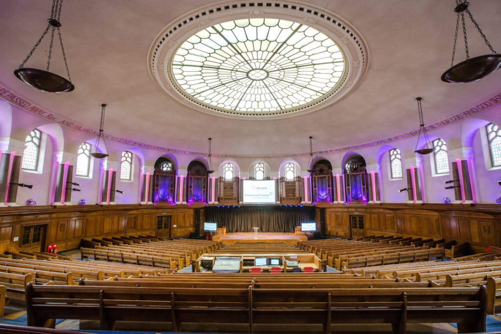 emmanuel centre event space london