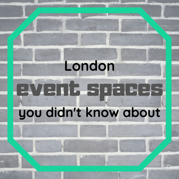 london event spaces you didn't know about