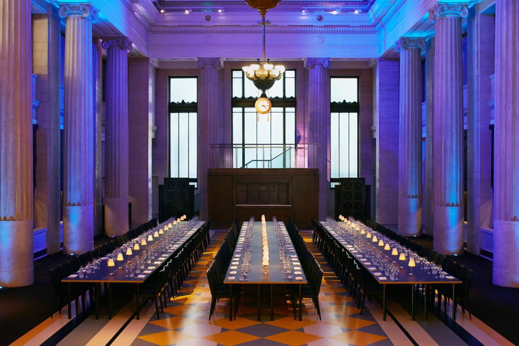 banking hall luxury event spaces london