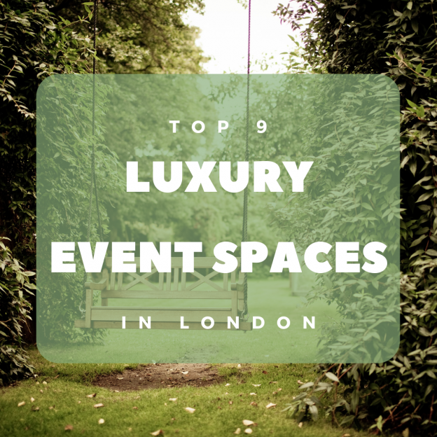 top 9 luxury event spaces in london