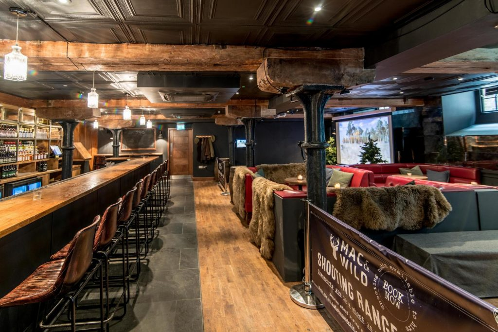 mac and wild shooting range and bar east london event venues