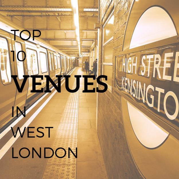 top venues west london