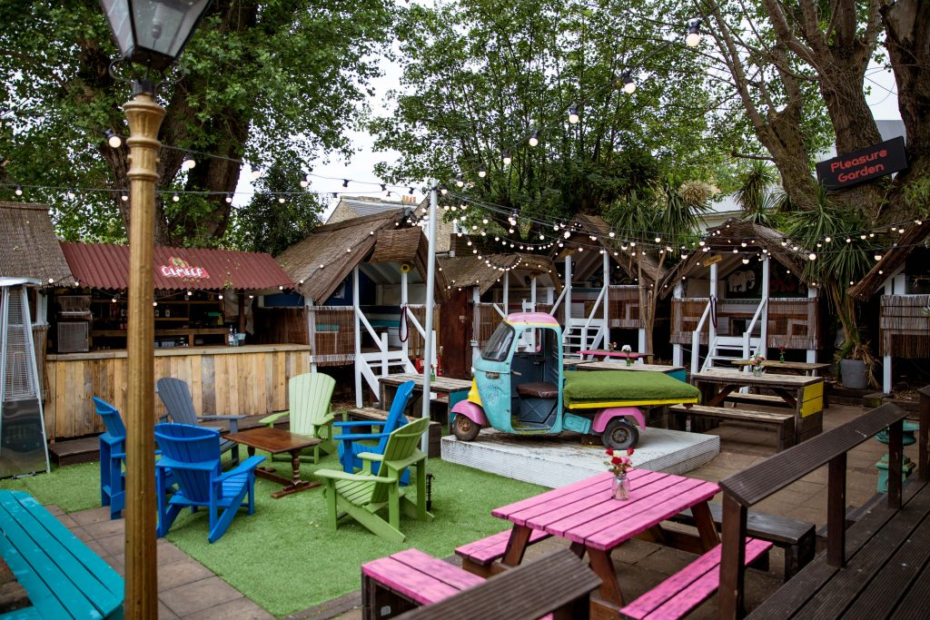 hope and anchor best pub garden london