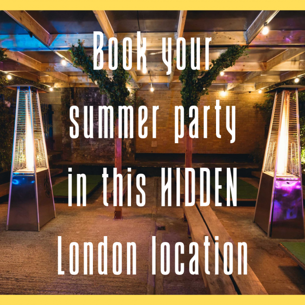 Book your summer party in this hidden London location