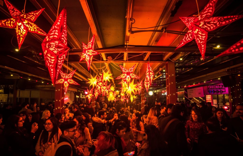 dinerama christmas party