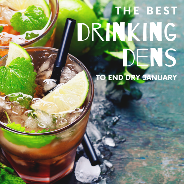 the best drinking dens to end dry january