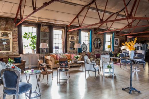 warehouse venue hire london canvas events