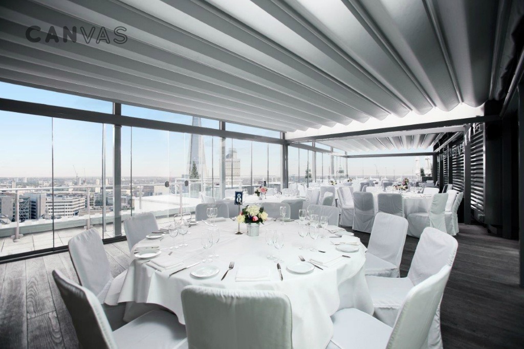 London Hotel Room With Roof Terrace