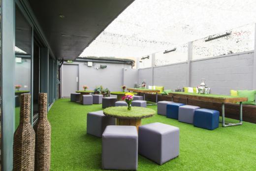 Roof Terrace Venue Hire London Canvas Events