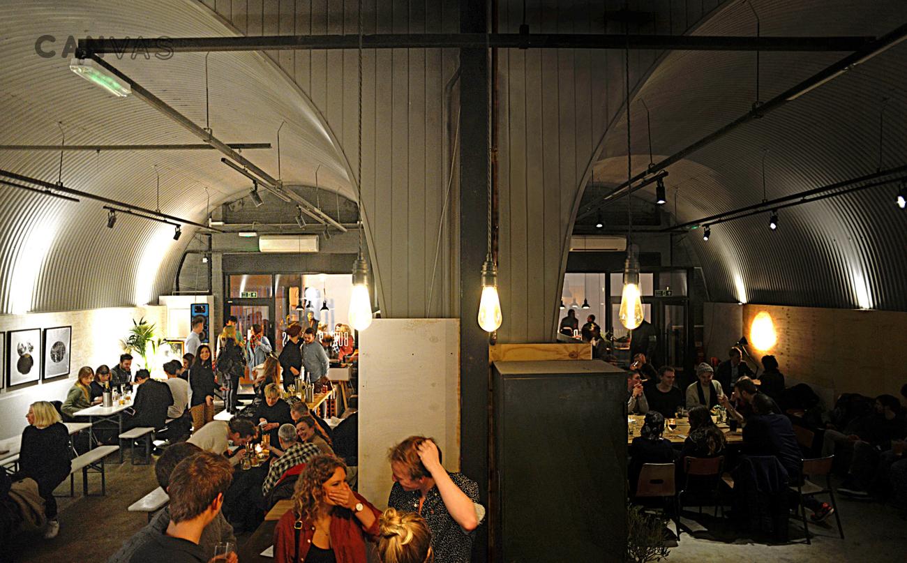 Buster Mantis London Venue Hire Canvas Events