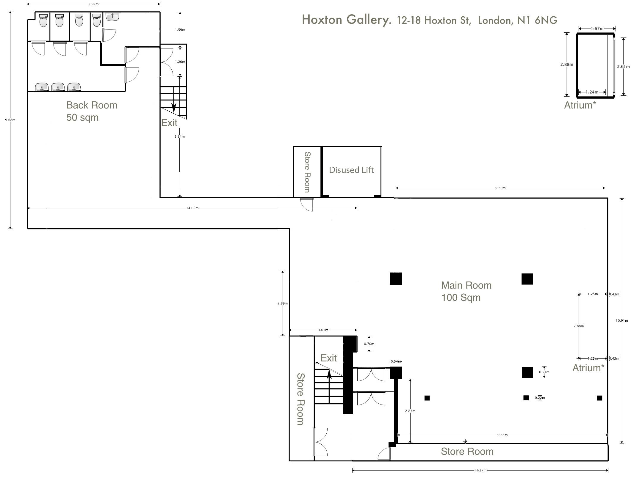 The Hoxton Basement London Venue Hire Canvas Events