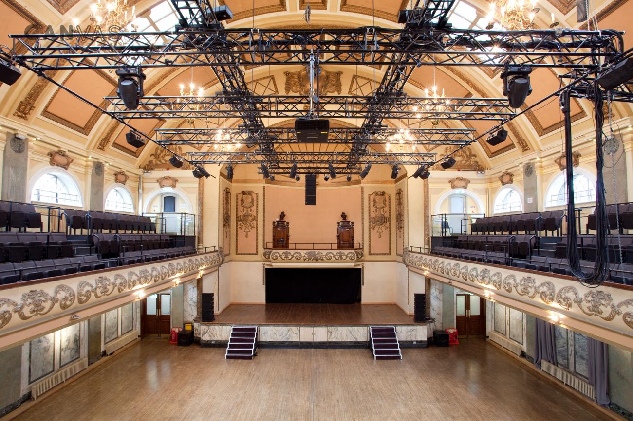 Shoreditch Town Hall London Venue Hire Canvas Events