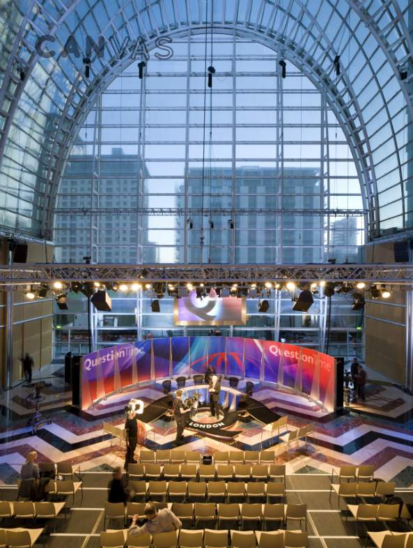 East Wintergarden London Venue Hire Canvas Events