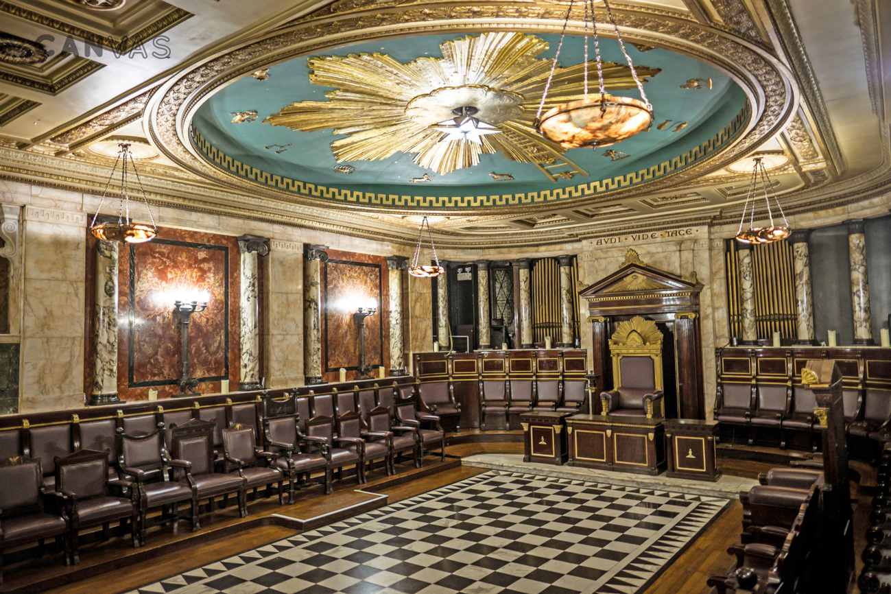 Masonic Temple Masonic Temple At Andaz Hotel City Of