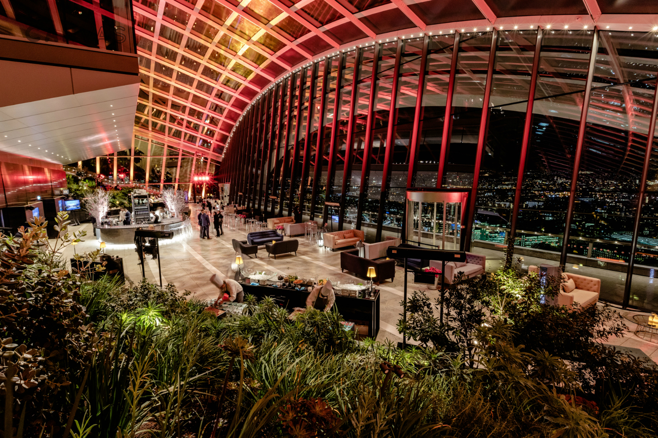 Sky Garden Sky Garden Spans Three Storeys And Boasts
