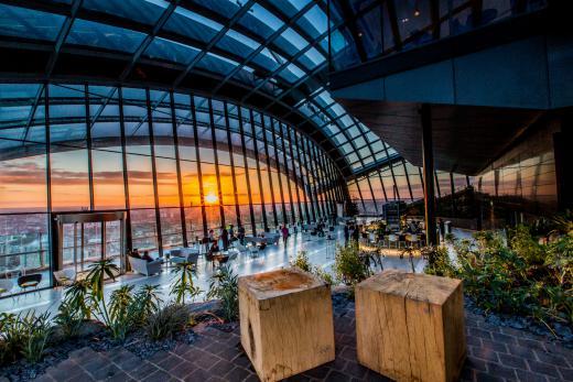 Rhubarb Restaurant Sky Garden