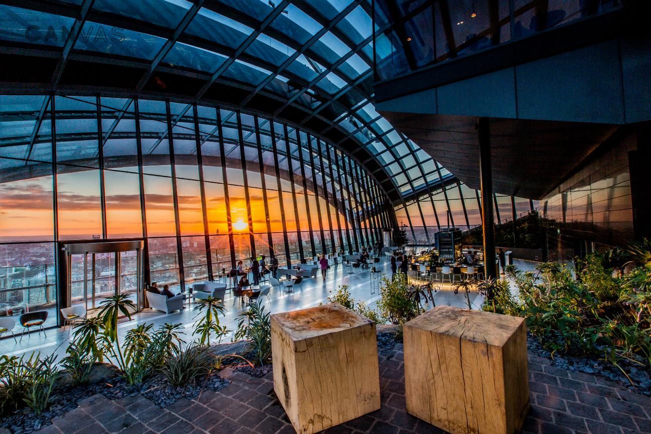 Sky Garden London Venue Hire Canvas Events