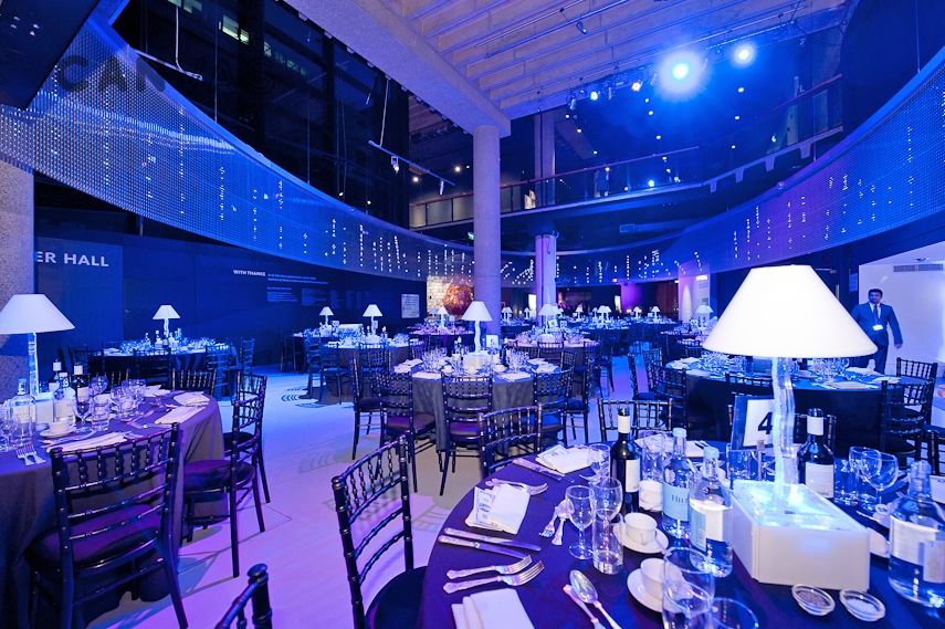 The Sackler Hall London Venue Hire Canvas Events