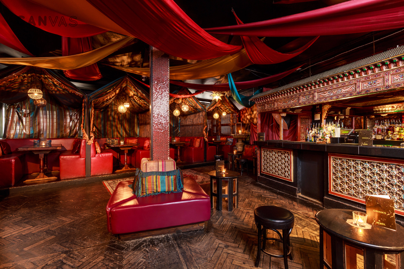 Jewel private rooms a chic luxurious bar and club for Best private dining rooms west end london